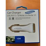 Cargador De Carro Samsung 10w Doble Puerto Usb