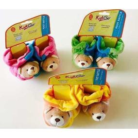 Babuchas Pantuflas Antirresbalantes De Oso Kid Go Para Bebe