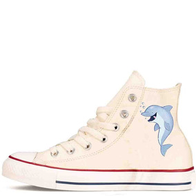 Zapatos Personalizados Delfin Hermosos Envio Gratis 008