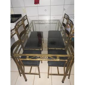 Vendo Mesa De 6 Cadeiras De Ferro Por 550$ Nao Entrego