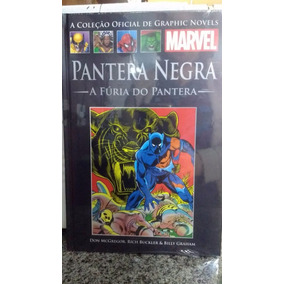 Graphic Novel Pantera Negra A Fúria Do Pantera - Salvat