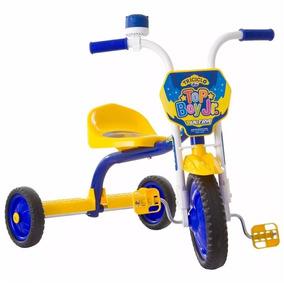 Triciclo 3 Roda Bicicleta Infantil Menino Ultra Bike Amarelo