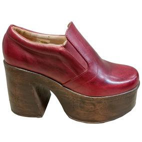 Zapato De Cuero Para Dama - Super Oferta