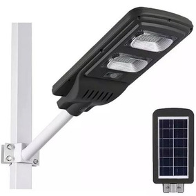 Kit 3 Luminaria Solar Parede Led 40w Sensor Movimento