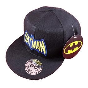 Gorra Batman Super P Neg Dc Comics Original Licencia Oficial 21d854448bf