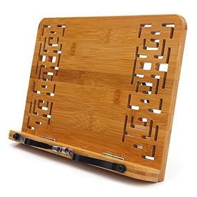 Atril Para Libro De Bambúhengsheng Lectura Resto Cookboo