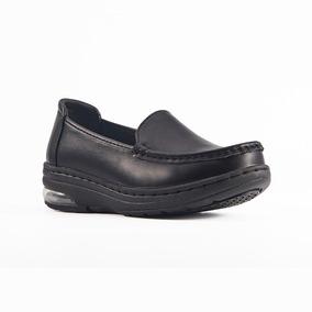 Zapatos Para Chef Sensfoot Piel, Camarista, Antiderrapante