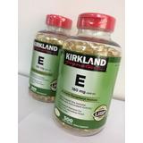 Vitamina E Kirkland 180mg 500 Capsulas De Gel