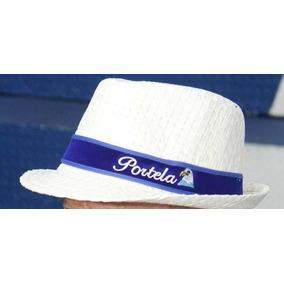 9f1da35d52a33 Chapeu Panama Escrito Portela - Chapéus no Mercado Livre Brasil