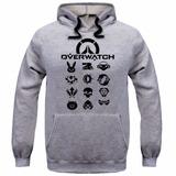 d4af4460cf2 Moletom Overwatch Game Gamer Tumblr Blusa De Frio Casaco Top
