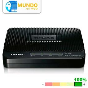 Modem Tp-link Adsl2+modem Td-8616 Cantv Banda Ancha Internet