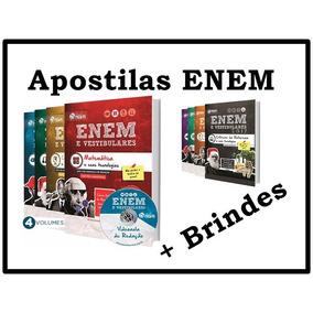 Apostilas Enem Impressas + Brindes