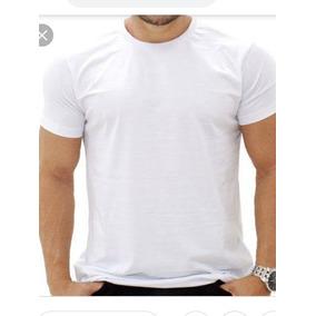 Kit Com 15 Camiseta Branca P Sublimação