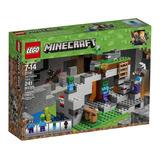 Lego - Minecraft La Cueva De Los Zombies (21141)
