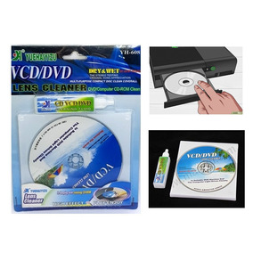 Limpador De Lentes De Leitores De Cd,s Dvd, Video Game, Etc.