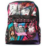 Mochila Espalda Monster High 16 Pulg Orig Dm404 Mundo Manias