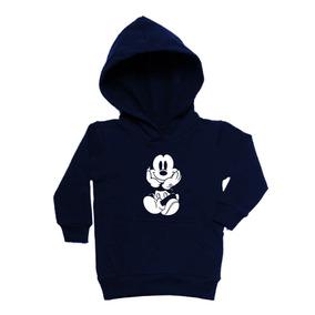 Moletom Infantil Mickey Mouse Com Capuz Tam  2 Ao 16 14eeb4eaa4b