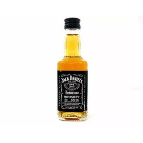 Mini Jack Daniels 50 Ml Garrafinha De Vidro 14 Unidades