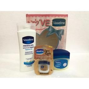 Kit X3 Crema Corporal Vaselina Labios,piel Ultra Hidratación