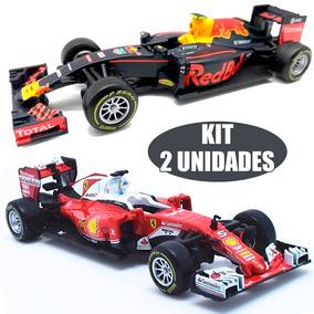 Super Kit 2 Miniaturas F1 Ferrari Gran + Rb12 Origina Burago