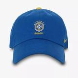 Boné Nike Seleção Brasileira H86 2018 Azul - Original e4d414626c3