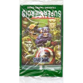 200 Cards Games Marvel Super Heroes