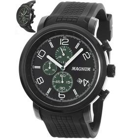 Relogio Masculino Magnum Analogico Com Cronografo - Ma34334g