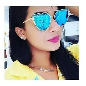 219a4a40c66a6 Oculos De Sol Feminino Barato Dais Blogueiras Espelhado - Óculos no ...