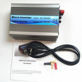 Micro Inversor On Grid Tie 220v / 22-60v 600w Lig Na Rede