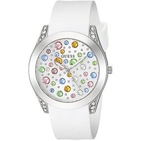 Relógio Guess Woman U1059l1 Branco 2018 Colection Original