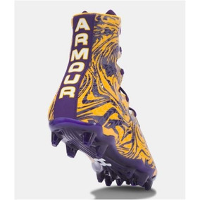 Tachones Futbol Americano Under Armour Highlight 27.5 Morado a18ff56a050b5