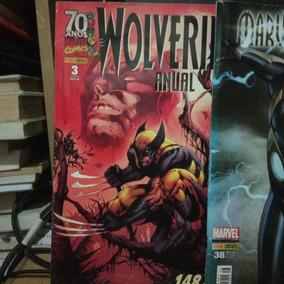 Wolverine Anual Mais 2 Marvel A Saber Formato Americano
