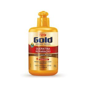 Niely Gold Creme Para Pentear Queratina Reparação