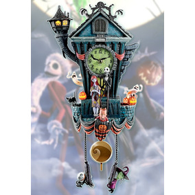 Reloj Cucu Nightmare Before Christmas Jack Skellintos C10