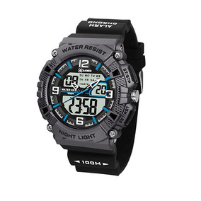 Relógio Cinza Xgames Masculino Anadigi Xmppa252