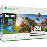 Xbox One S 1tb 4k + Game Pass 3 Meses Fornite Edition