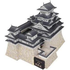 Maqueta Japón Castillo De Himeji (para Armar En Papel)