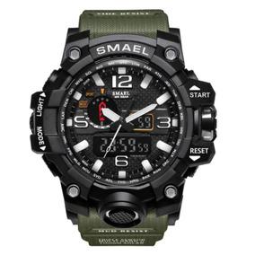 Reloj Analogico Digital Led Pulsera Militar Envio Gratis