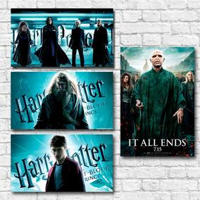 Kit 05 Pôsteres A3 Harry Potter - Frete Grátis (ler Anúncio)