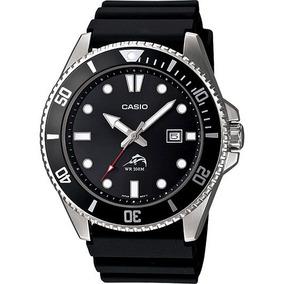 877300a58417 Reloj Casio Duro Mdv106 Wr200 Mts Acero-caucho Fecha Oferta!