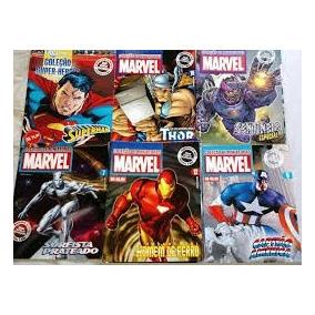 Revistas Marvel E Dc Coleção Miniaturas Eaglemoss
