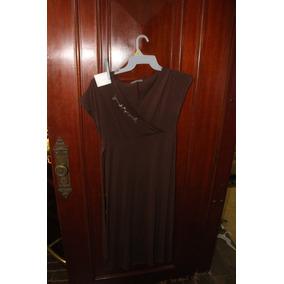 = Roupa Lote 580 Mulher Vestido 4 Marrom Bordado Criatiff 4