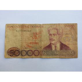 Nota De 50 Mil Cruzeiros