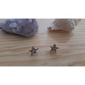 Aretes De Plata En Forma De Estrella