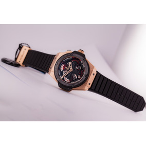 Hublot King Power Unico World Time 18k Oro Rosa