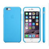Carcasa Iphone 6s Plus Apple Cuero Celeste