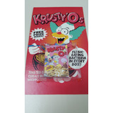 Los Simpsons Caja De Cereal O Rueda Krusty Milonga Customs