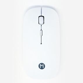 Mouse Inalambrico Mumuso Ultra Delgado Blanco