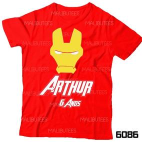 Camiseta Aniversario Homem De Ferro - Camisetas e Blusas no Mercado ... 1aa54d791e6