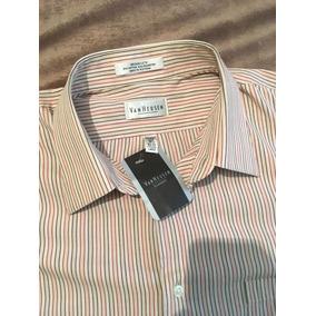 Camisa De Vestir Manga Larga
